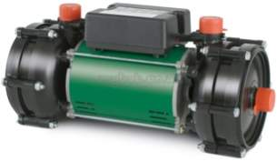 Salamander Shower Pumps -  S/mandr Rhp140 4.3 Br Plus Ve Twin House Pmp