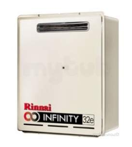 Rinnai Range Of Gas Wall and Water Heaters -  Rinnai Infinity 32e Ext Water Heater