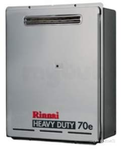 Rinnai Range Of Gas Wall and Water Heaters -  Rinnai Infinity 70e Water Heater W70evr-lpg