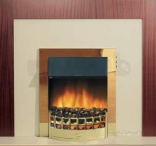 Rob Willey and Grateglow Electric Fires -  Rw Supereco Classic Ii Electric Brass