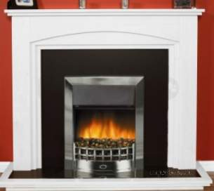 Rob Willey and Grateglow Electric Fires -  Rw Supereco Classic Ii Electric Chrome