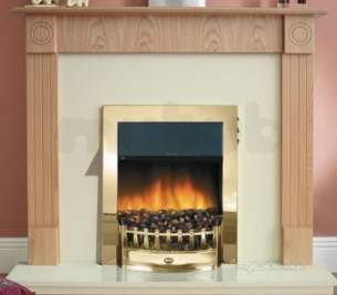 Rob Willey and Grateglow Electric Fires -  Rw Supereco Charisma Ii Electric Brass