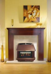Robinson Willey Gas Fires and Wall Heaters -  Rob Willey Firecharm Lfe Bronze Ng