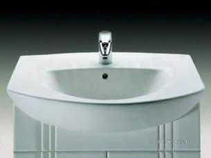 Roca Sanitaryware and Accessories -  Roca Laura 700 X 485mm 1th Vanity Basin White