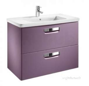 Roca Furniture and Vanity Basins -  Roca The Gap Unik 600 X 440 Basin Plus Unit M/wh