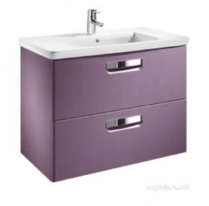 Roca Furniture and Vanity Basins -  Roca The Gap Unik 700 X 440 Basin Plus Unit M/wh