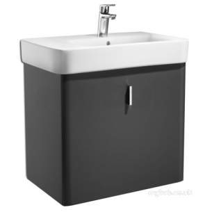 Roca Sanitaryware -  Roca Senso Square Furniture Base 550mm Black