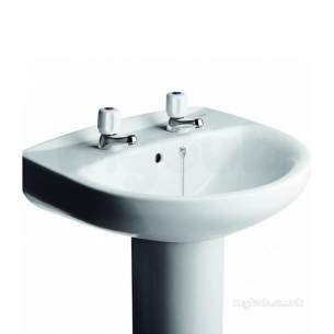 Roca Sanitaryware -  Roca Polo 560 Basin 2th White 32829d000