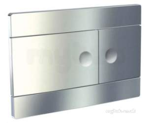 Roca Sanitaryware and Accessories -  Roca Operating Pnl For Duplo 820 Polished Chr