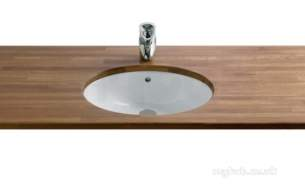 Roca Sanitaryware and Accessories -  Roca Neo Selene 510 In Or Under C/top Basin Wh