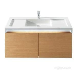 Roca Sanitaryware -  Roca Stratum 1100mm 1th Vanity Or W/h Basin Wh