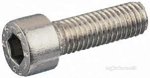Rs Components -  Rs 281-136 M6x25 S/s Hex Socket Capscrew