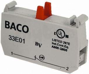 Rs Components -  Rs 260-154 Contact Block 1nc 33e01