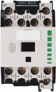 Rs Components -  Rs 315-756 Contactor 11.5a 240v Ac 5.5kw