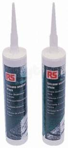 Rs Components -  Rs 512-783 Silicone Black 310ml