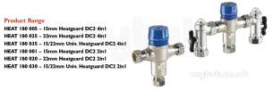 Rwc Water Mixing Products -  Rwc Heatguard Dc2 15mm/22mm 4in1