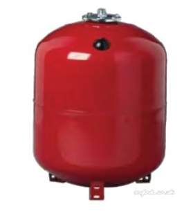 Rwc Sealed System Equipment -  Rwc 12l Vert Heating Vessel Red 1.0bar