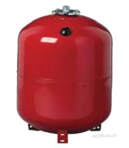 Rwc Sealed System Equipment -  500l Vert Heating Vessel Red 1.5bar