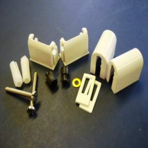 Armitage Grips Levers and Wastes -  Armitage Shanks Astraqualisaeo S9724 Seat Hinges White