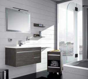 Salgar Showroom Furniture -  Salgar 13227 Levante 2 Draw Vanity Unit