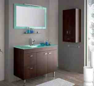 Salgar Showroom Furniture -  Salgar 14831 Iberia Aqua Mirror 1000x600
