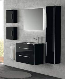 Salgar Showroom Furniture -  Salgar 15498 Small Wall Cube Black