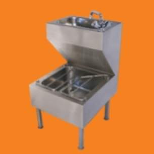 Pland Catering Sinks and Stands -  Pland Ju5060 Janitorial Unit Inc Tap