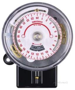 Sangamo Time Switches -  San Q553 13 F13 Solar Dial 1 On/off T/sw