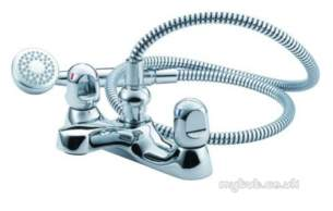 Armitage Shanks Domestic Brassware -  Armitage Shanks Sandringham S7659 Bath Shower Mixer And Kit Cp