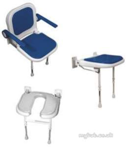 Akw Medicare Products -  04270p Seat Advanced W/m Foldup Grey