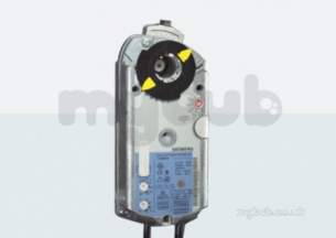 Landis and Staefa Control Systems -  Siemens Geb131.1e 24v 15nm Rotary Actuator 3 Position