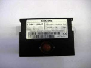 Landis and Staefa Burner Spares -  Siemens Lga41.153a27 Control Box Control Without Base