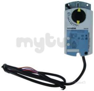 Landis and Staefa Control Systems -  Siemens Gdb131.1e 24v 5nm Rotary Actuator 3 Position