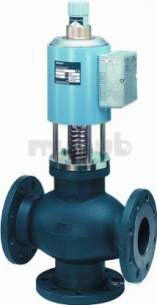 Landis and Staefa Hvac -  Siemens M3p100fy 100mm 3 Port Valve And Act