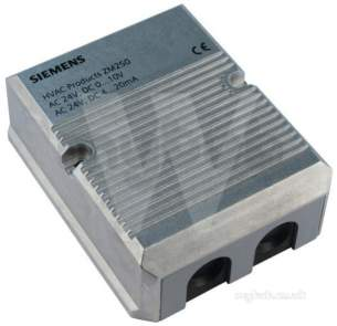 Landis and Staefa Hvac -  Siemens Zm250 Module With Auto Calibration