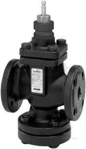Landis and Staefa Hvac -  Siemens Vvf 61 40 40mm 2port Flange Valve Kv-19