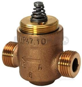 Landis and Staefa Hvac -  Siemens Vvp47.10-0.4s 15mm 2port Valve Cv-0.4