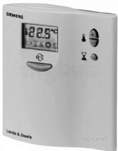 Siemens Domestic Controls -  Siemens Rdd10 Elec Room Stat Mains