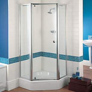 Showerlux Luxury Enclosures -  Sigma Snp 900 Pentangle 2-pt Sl/pl/t8