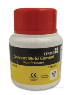 Center Solv Cement Cleaner Lube -  Center Tin Solvent Cement 125 Ml