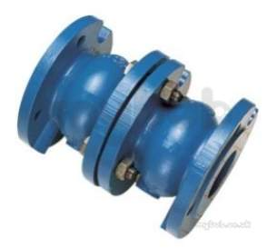 Water Check Valves -  402b/402 Pn16 Ci Double Check Valve 125