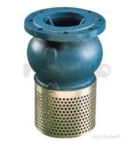 Water Check Valves -  302 Pn16 Foot Valve And Strainer 65