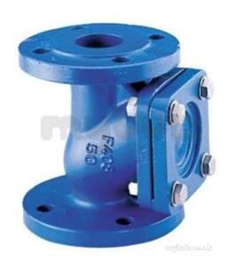 Water Check Valves -  408 Pn10 Cast Iron Ball Check Valve 200