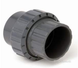 Durapipe Pvc Fittings 1 14 and Above -  Durapipe Upvc Socket Union 205109 3