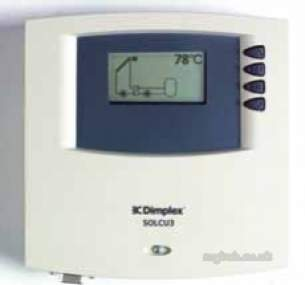 Dimplex Solar Heating Products -  Dimplex Control Unit 6 Inputs 3 Output