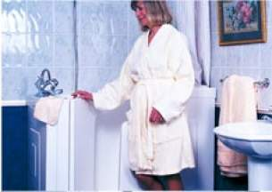 Kubex Walk In Bath -  Kubex Solo Swlr1 Walk-in Bath White