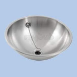 Twyfords Commercial Sanitaryware -  Vecta Ss8503 Inset Handrinse Basin Nth Ss8503ss