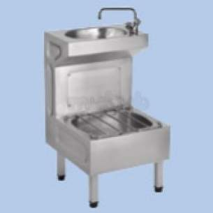 Twyfords Commercial Sanitaryware -  Vecta Ss8801 Janitorial Unit Ss8801ss