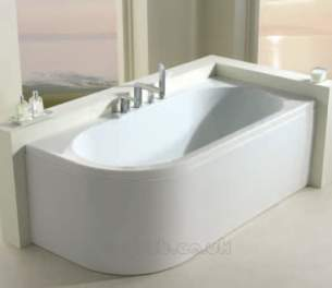 Eastbrook Baths -  23.4371l Status 1700 X 800 5mm Lh White
