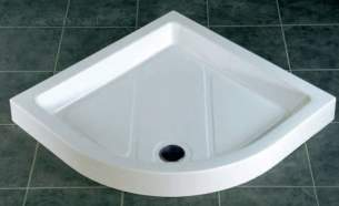 Eastbrook Showers -  30.0691 Quadrant Tray 900x1200 Left Hand White